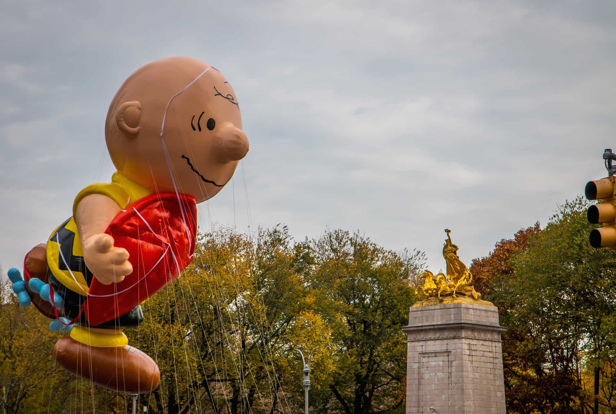 90th macy's thanksgiving day parade- Charlie Brown
