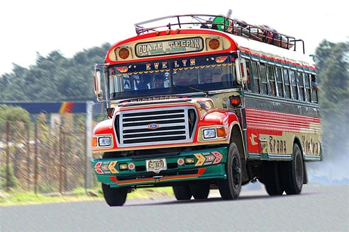 The Chicken Bus (Guatemala's Unusual Mode of Transport)