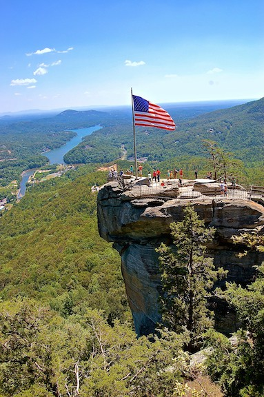 Chimney Rock State Park, by JM Turner via Creative Commons