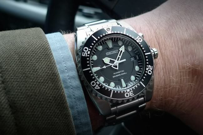 Seiko's Kinetic Dive Watch