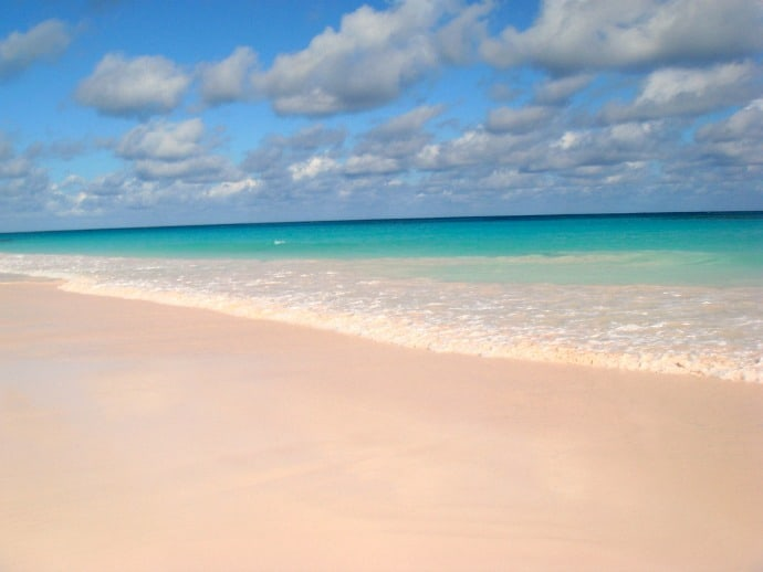 Pink Sands Beach, Harbour Island, Bahamas by Mike's Birds via CC