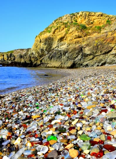 Glass beach Fort Bragg by Mapping Megan