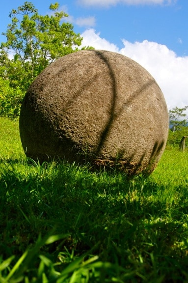 Stone Sphere at Finca 6 Archeological Park, Costa Rica