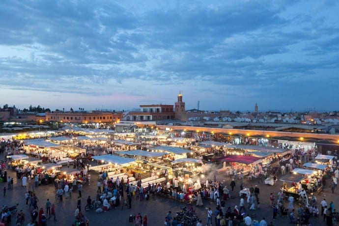 Countries that don't celebrate Christmas - Morocco
