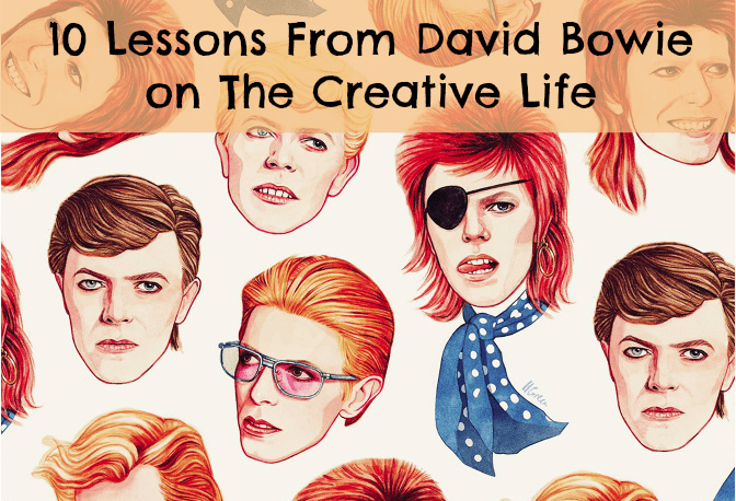 Lessons from David Bowie on The Creative Life