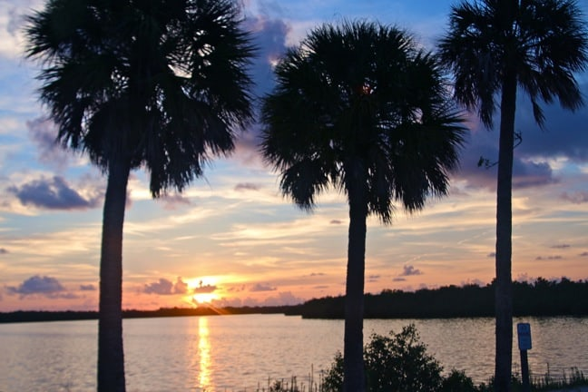 Sunset in Ding Darling National Wildlife Refuge, Florida
