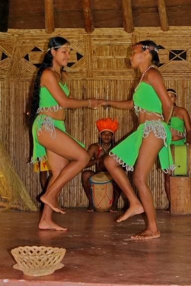 Traditional Kalinago Cultural Performance