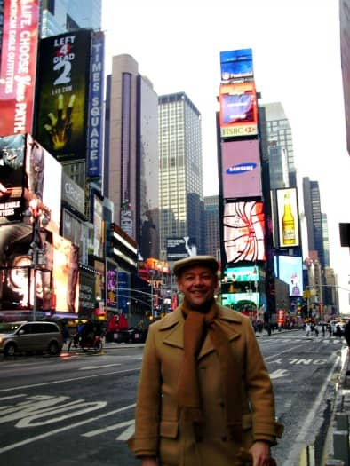 Don George in NYC