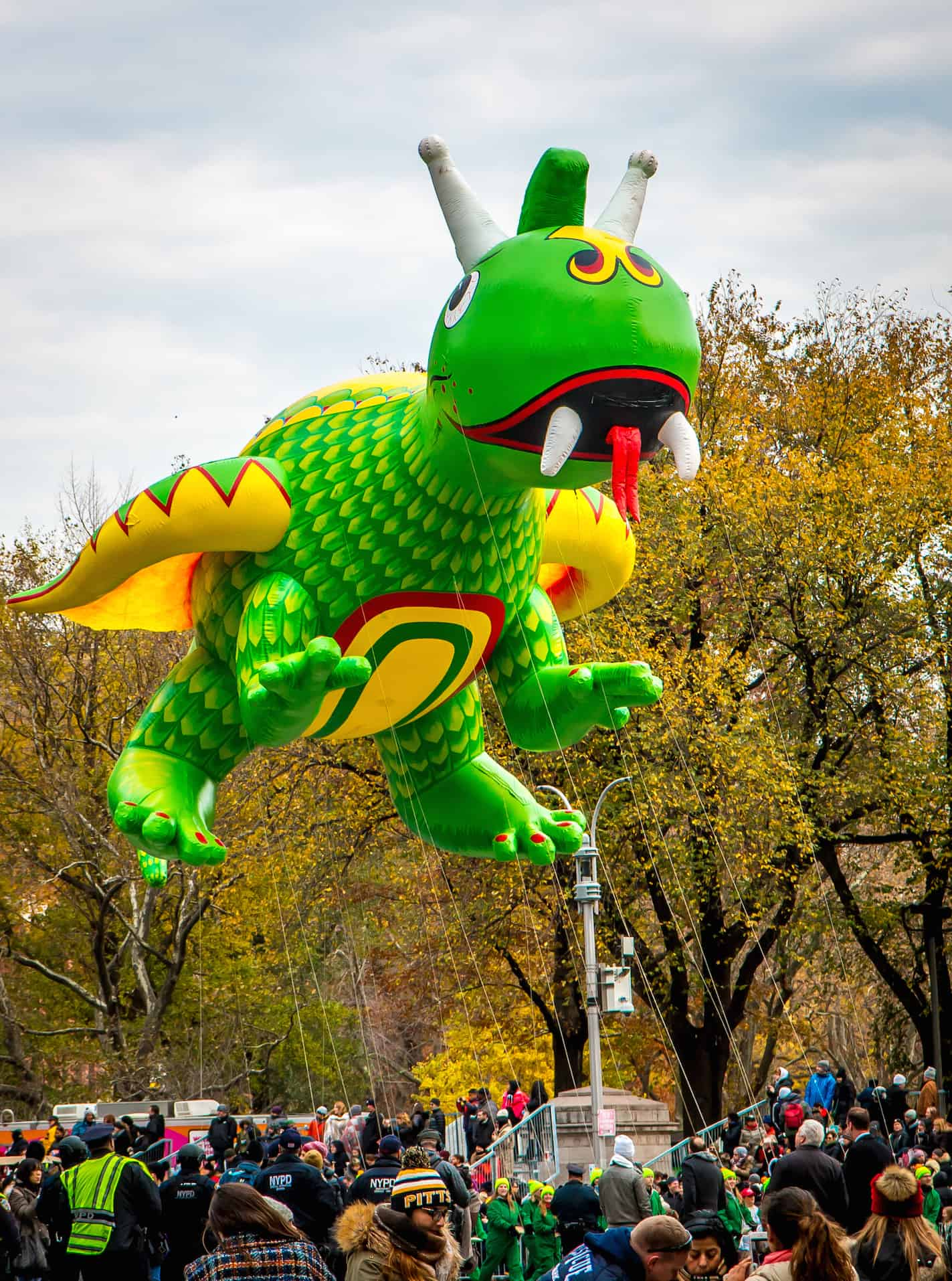 90th macy's thanksgiving day parade- Dragon