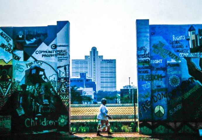 Durban Human Rights Wall Community Mural