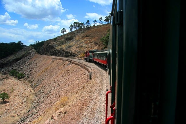El Chepe Train in Copper Canyon