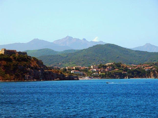 Elba Coast line  Italy