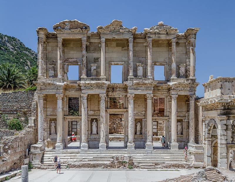 Celsus Library at Ephesus, Turkey