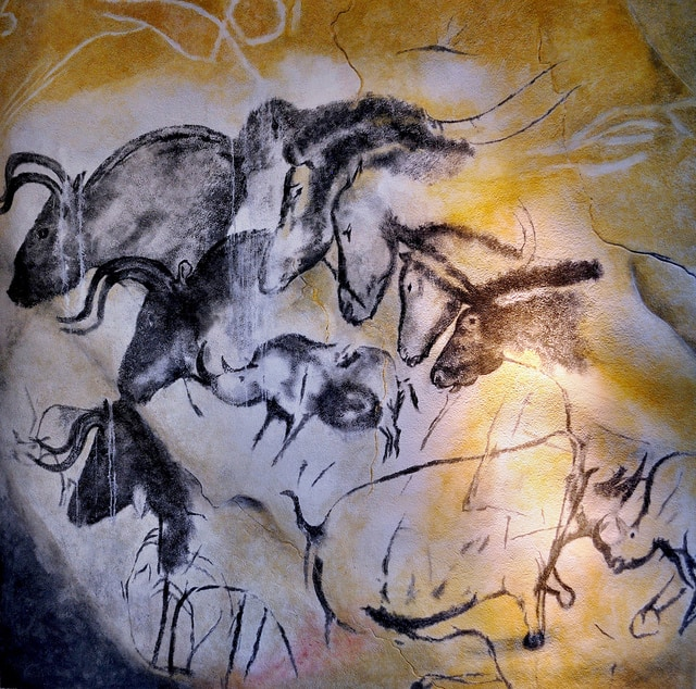 Etologic Horse Study in Chauvet's Cave, France
