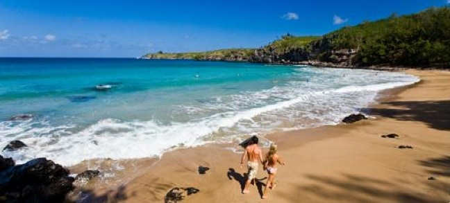 Exotic islands to visit -Beautiful Beach in Maui