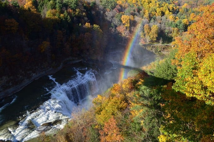 Finger Lakes Waterfalls - Letchworth State Park