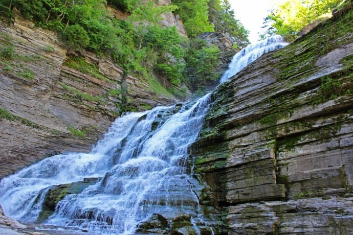 Finger Lakes Waterfalls - Lucifer Falls