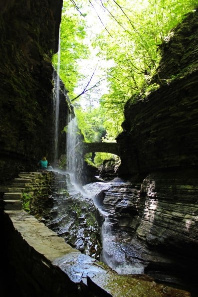 Finger Lakes Waterfalls - The Central Cascade