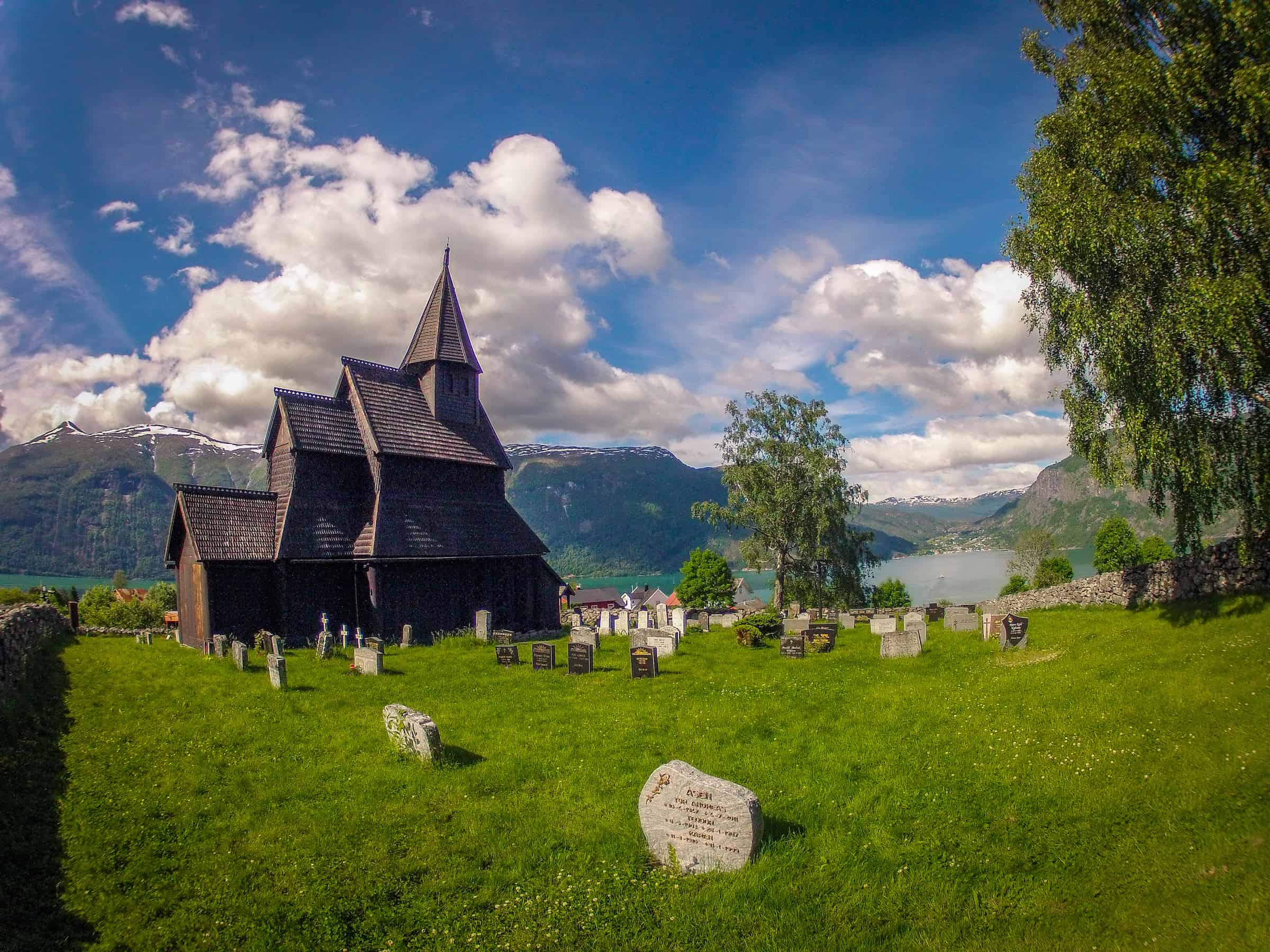 Fjords of Norway: Urnes Stave Church