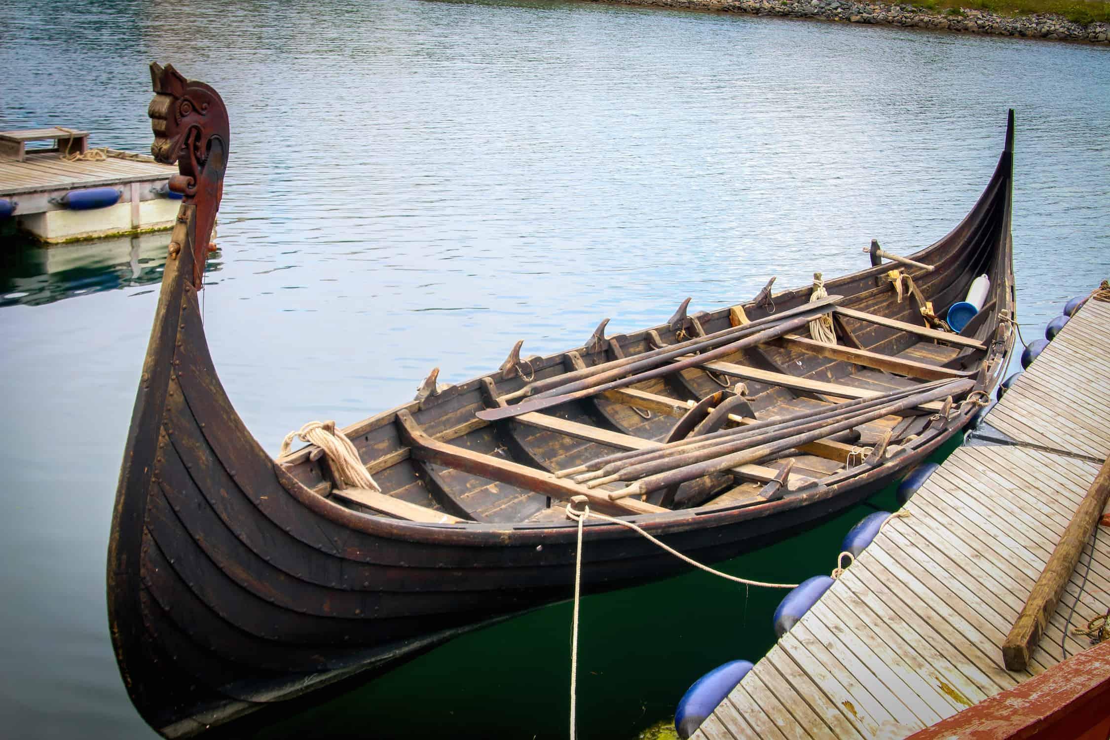 Fjords of Norway: Viking Boat at Sunnmøre Museum