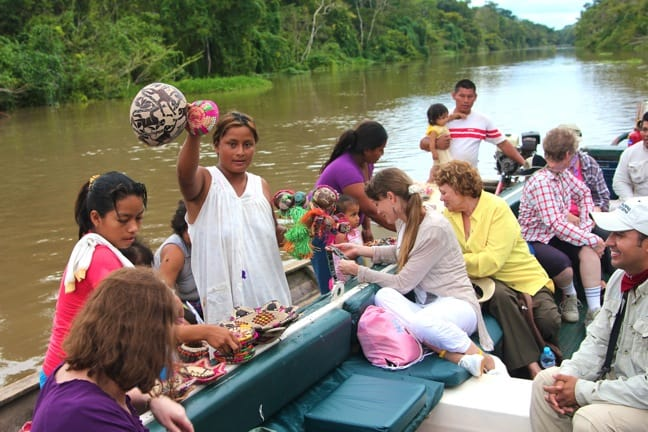 Sustainable Fair Trade Shopping From Ribereños in the Peruvian Amazon