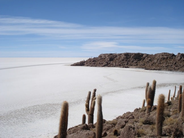 Salari de Uyuni, Bolivia in Gringo Trails