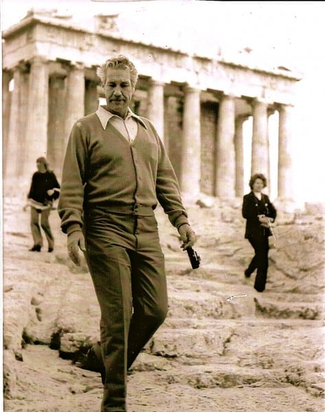 James Ray Love at the Parthenon in Athens, Greece