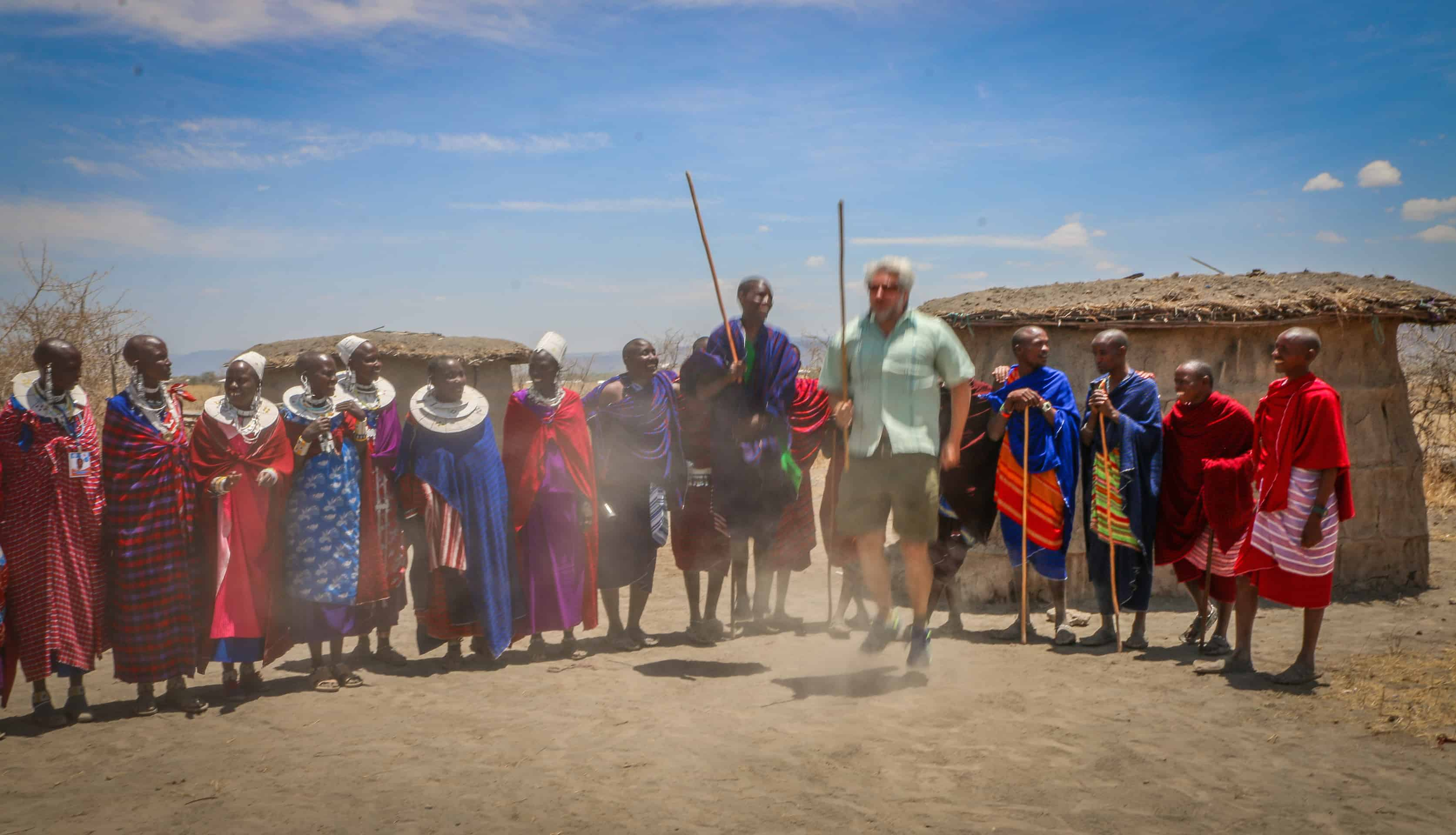 Green Global Travel Dancing with Maasai