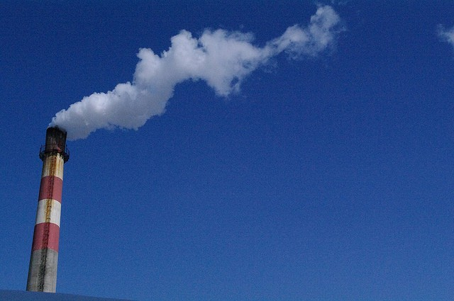 Greenhouse Gases from Factory (Courtesy of Mohri UN-CECAR)