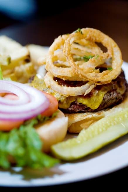 Guinness BBQ Burger