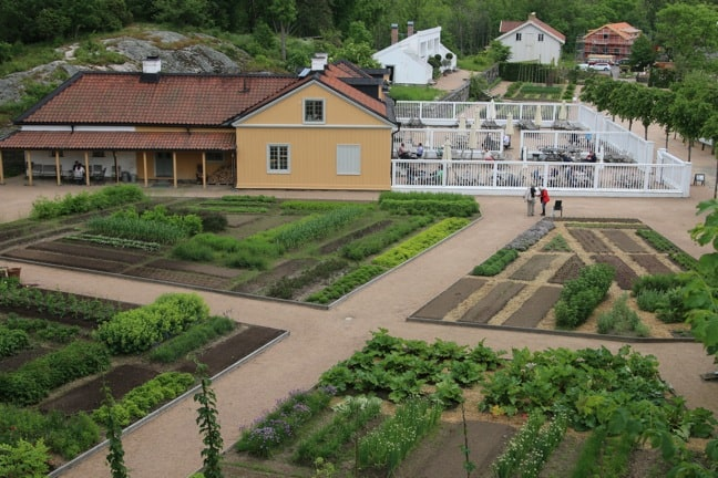 The Gunnebo House Kitchen Garden, Sweden
