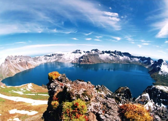 Heaven Lake North Korea