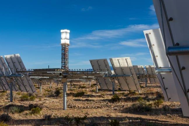 Ivanpah Solar Plant