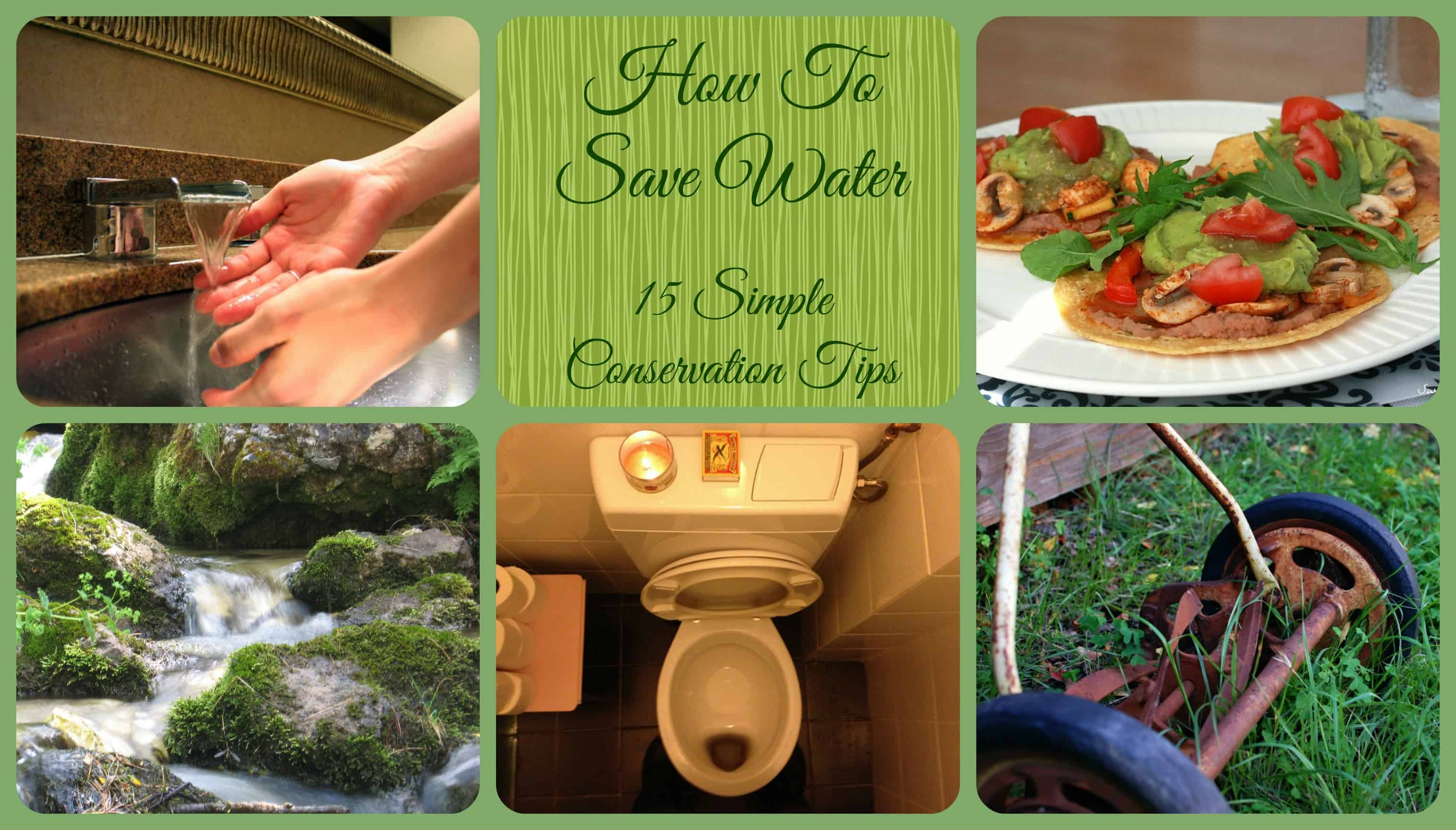 How to Save Water: 15 Simple Conservation Tips