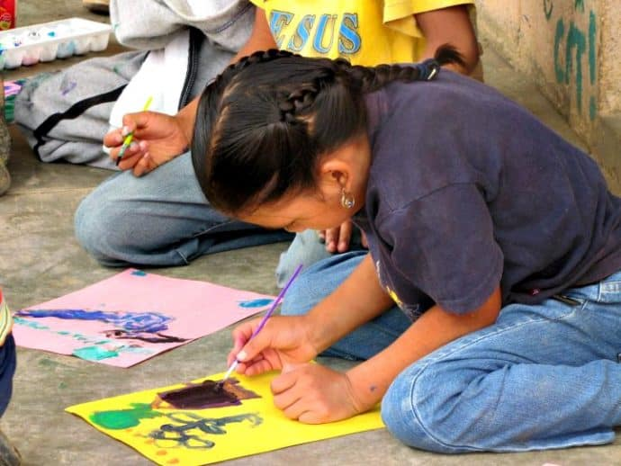 How to Volunteer -Art Classes in Guatemala