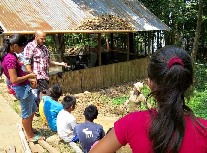 How to Volunteer -Talking Compost in Casa Guatemala