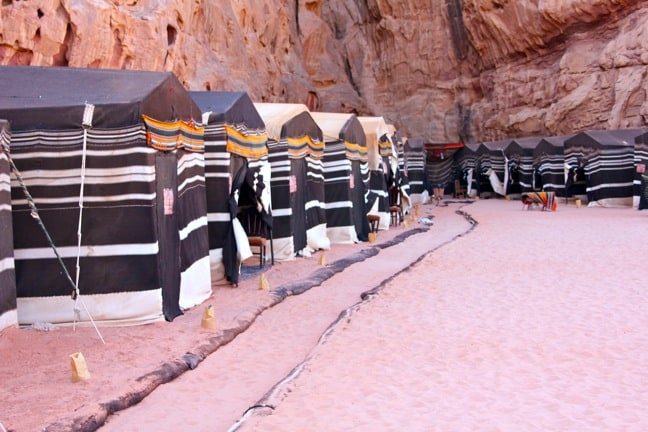 Captain's Camp in Wadi Rum, Jordan