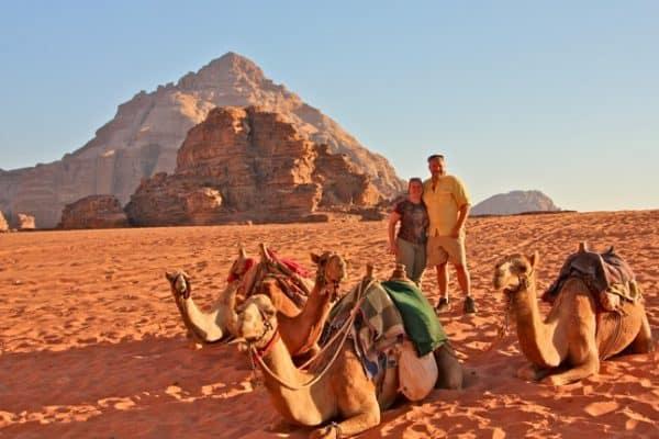 JORDAN Photo Gallery– Wadi Rum Desert Camping & Camel Trekking