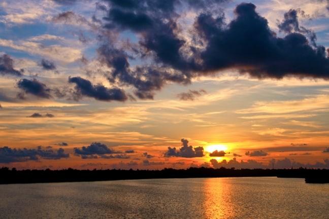 Sunset in J.N. Ding Darling National Wildlife Refuge