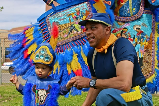 Mardi Gras Indians Super Sunday, New Orleans