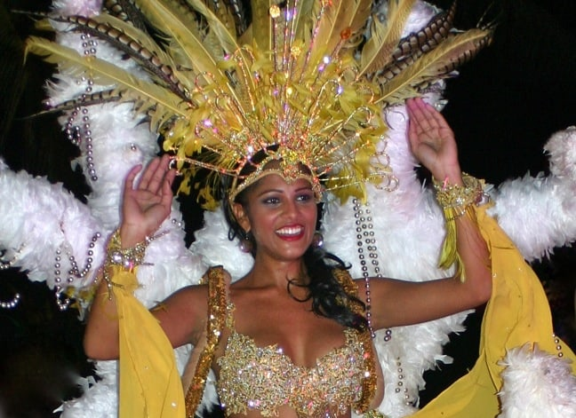 Carnival Dancer in Aruba