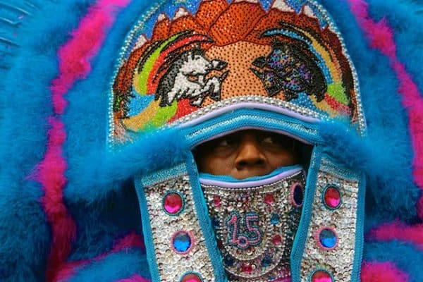 New Orleans' Mardi Gras Indians (A Photo Essay)