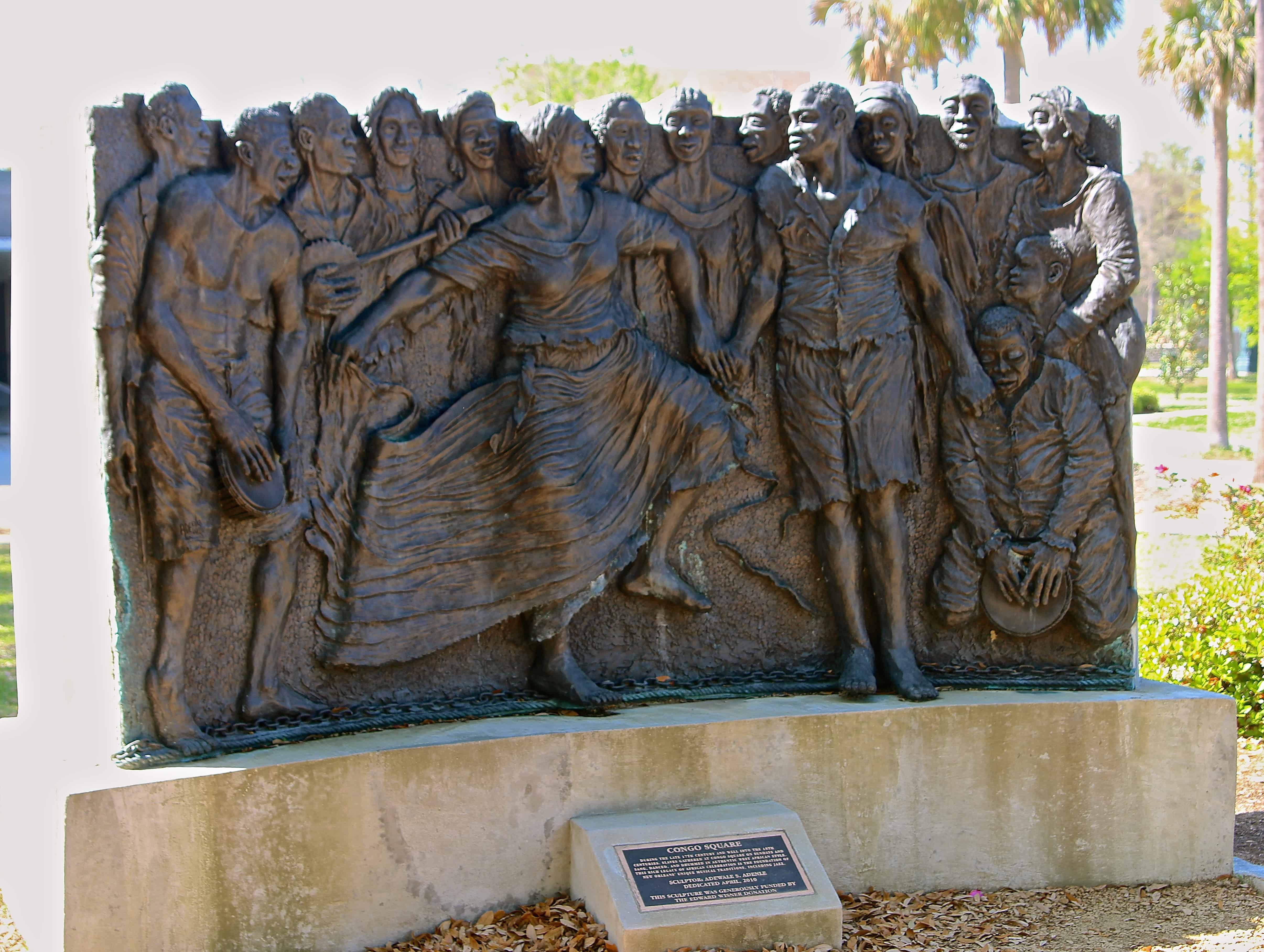 Treme New Orleans: Congo Square Statue