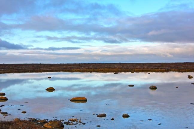 Hudson Bay in Churchill, Manitoba