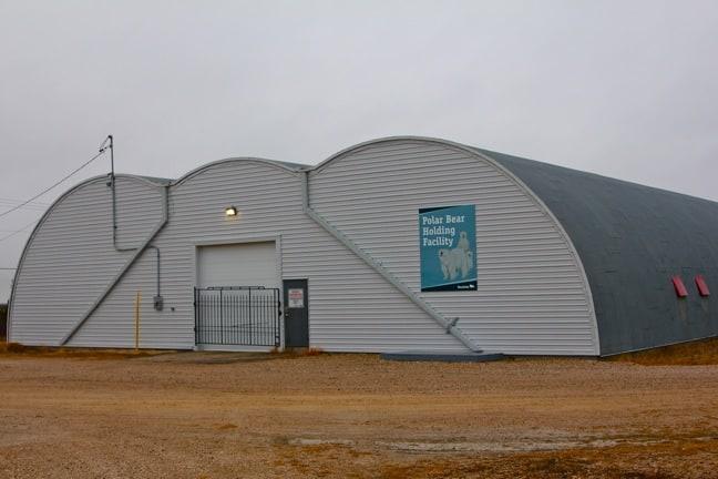Polar Bear Jail in Churchill, Manitoba
