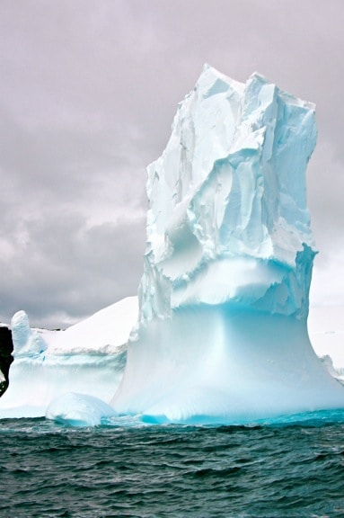 Pinnacle Iceberg in Antarctica