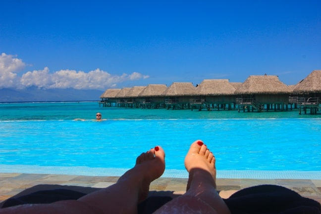 Savoring R&R at the Sofitel Moorea Ia Ora Beach Resort, Tahiti