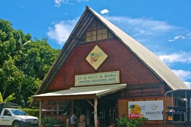 Manutea Tahiti in Moorea