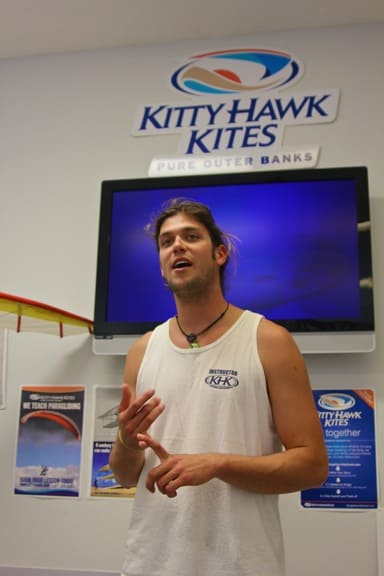 Learning How to Hang Glide at Kitty Hawk Kites, Outer Banks
