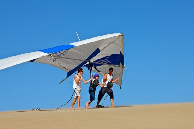 Hang gliding Outer Banks, North Carolina With Kitty Hawk Kites